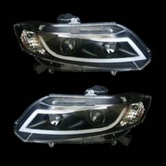 Honda Civic Mercekli Led Far Tak�m� 2012-2013