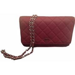 %100 Orijinal Chanel bordo wallet on chain �anta