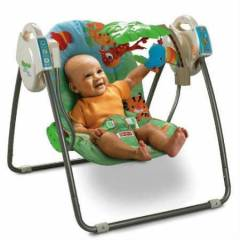 FISHER PRICE YA�MUR ORMANI SALINCAK