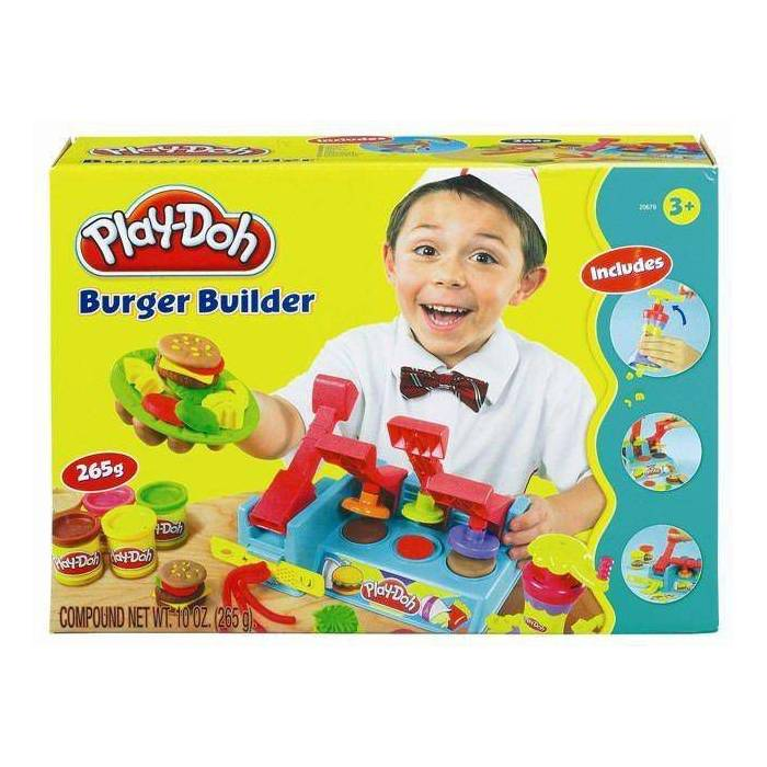 PLAYDOH HAMBURGER PART�S� OYUN HAMURU SET�
