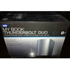 "WD 3,5"" 8TB MY BOOK� THUNDERBOLT� DUO DEPOLAMA"