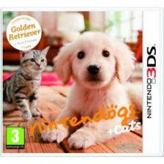 NINTENDOGS + CATS GOLDEN RETRIEVER 3DS OYUN