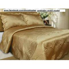 ��FT K���L�K DA�NTY HOME SATEN YATAK �RT�S� GOLD