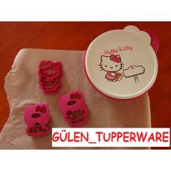 TUPPERWARE Hello Kitty SET - BEDAVA KARGO