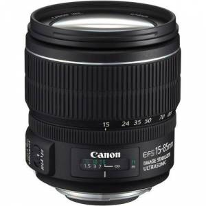 CANON 15-85  IS USM LENS - f:3,5-5,6