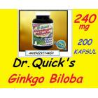 G�NKGO B�LOBA HAPI*Dr Quick's*Made �n USA