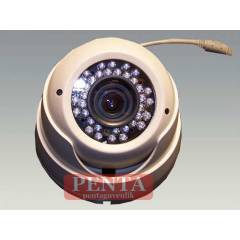480 TVL 4-8 MM 36LED GECE G�R�� DOME KAMERA