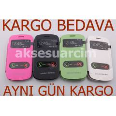 Samsung Galaxy S3 Mini K�l�f Flip Cover Trendies
