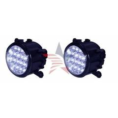 M-Light Mitsubishi L 200 G�nd�z Ledli Mavi Sis L