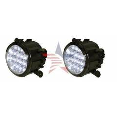 M-Light Mitsubishi L 200 G�nd�z Ledli Beyaz Sis