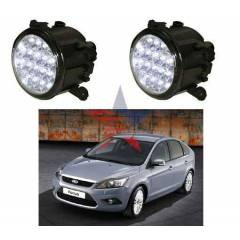 M-Light FORD Focus 2008 G�nd�z Ledli Beyaz Sis L