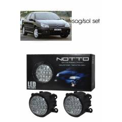 M-Light Citroen c5 G�nd�z Ledli Beyaz Sis Lambas