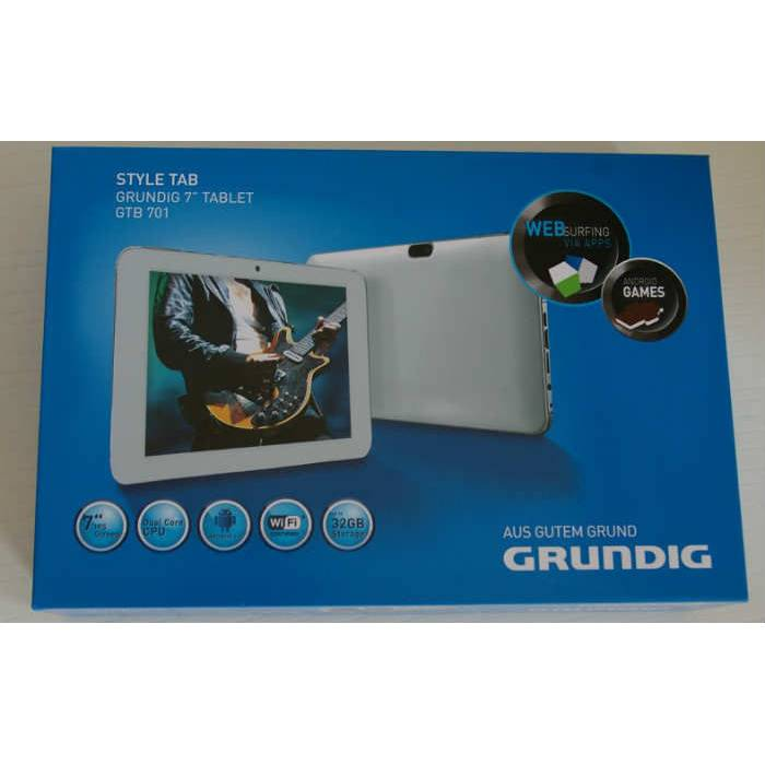 SIFIR GRUNDIG GTB 701 IPS ��FT �EK�RDEK TABLET