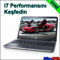Dell Laptop i7 3537U 8GB 1TB 2GB Ekran Kart�
