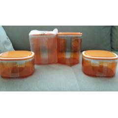 TUPPERWARE HANIMEL� TURUNCU 2L� SET