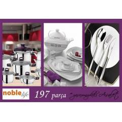 NOBLE LIFE �EY�Z SET�-2 PUNTO PARLAK