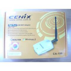 CEN�X CA-199 USB W�RELESS ADAPT�R 5 DP� ANTEN