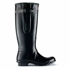 HUNTER Ya�mur �izmesi Botu -Adjustable BLACK