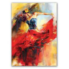 Kanvas Pano 70X50 Orta Boy Canvas Dansc�