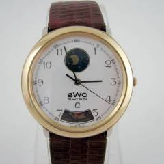 80'S �SV��RE BWC MOONPHASE YAPRAK KOL SAAT�!!
