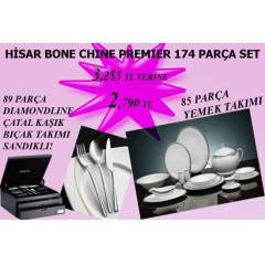 H�SAR BONE CHINA 174 PAR�A PREMIER SET 2 PERA