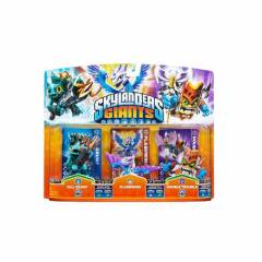 SKYLANDERS GIANTS GRILLGRUNT+FLASHWING+DOUBLE TR