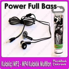 Mp3 / Mp4 Kulakl�k Kulaki�i Power Full Bass