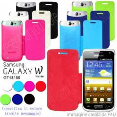 Samsung Galaxy Wonder i8150 K�l�f Flip Cover