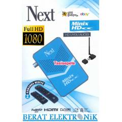 Next Minix Hd Mini Uydu Al�c�s� Mavi+Wifi Adapt�