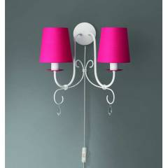 Ph�l�ps 45694/28/10 PRINCESS Wall Lamp Fuchsia