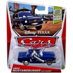 Disney Pixar Cars Brent Mustangburger with Heads