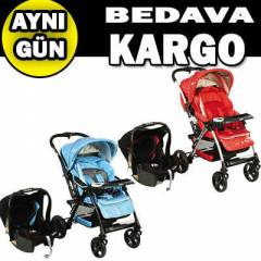 Kraft Elite Travel Bebek Arabas� 2RENK-2014MODEL