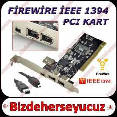 PCI 1394 FiREWiRE KART 4 6 pin Port