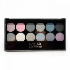 MUA 12 Shade Starry Night Palette