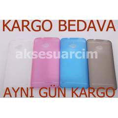 HTC One K�l�f 0.2mm Kapak �zel Tasar�m