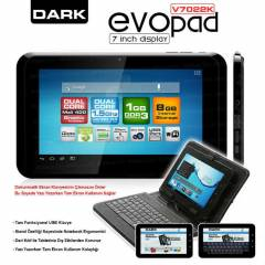 "Dark EvoPad V7022K  7"" �ift �ek. Tablet PC"