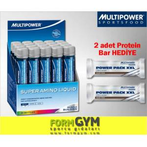 MultiPower Super Amino Likit + 2 HED�YE