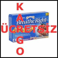 Breathe Right Burun Band� Deneme Paketi B�y� DQ5