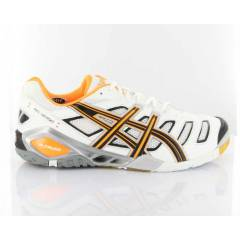 ASICS GEL SENSEI 4 B203Y 199 WHT BLK NEON ORANGE