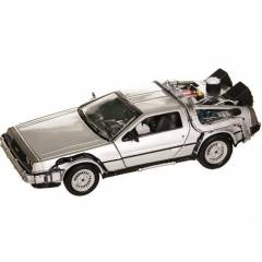 DELOREAN TIME MACHINE CARS DIECAST METAL 1:24