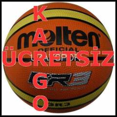 Molten BGR3 3 No Kau�uk Basketbol Topu E4S