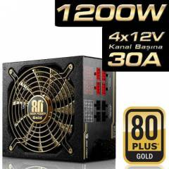 High Power  80+ GOLD 1200W Power Supply PSU