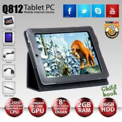 "ARTES Q812 8""/16Gb/2Gb/2 Kamera/Android Tablet"