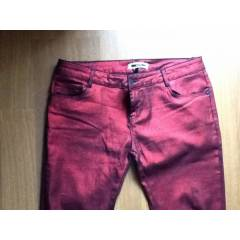 �pekyol Sezon Modas� Metalik Bordo Pantolon