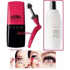 AVON MEGA EFFECTS MASKARA/R�MEL 9 ML-YEN�!!