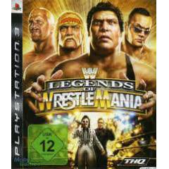 PS3 WWE LEGENDS OF WRESTLEMANIA TEM�Z KA�MAZZ