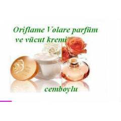 OR�FLAME Volare Parfum ve v�cut kremi CEMBOYLU