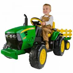 Peg Perego Jonny Deere Ground Force Trakt�r