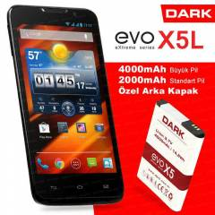 "Dark Evo X5L Full HD OGS 5"" Ak�ll� Telefon 16GB"