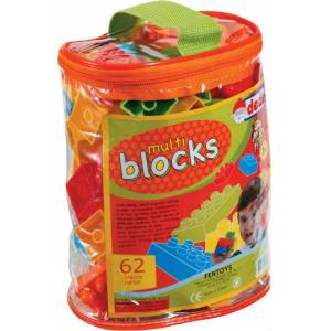 62 PAR�A MULT� BLOCKS LEGO SET� (STK02958)